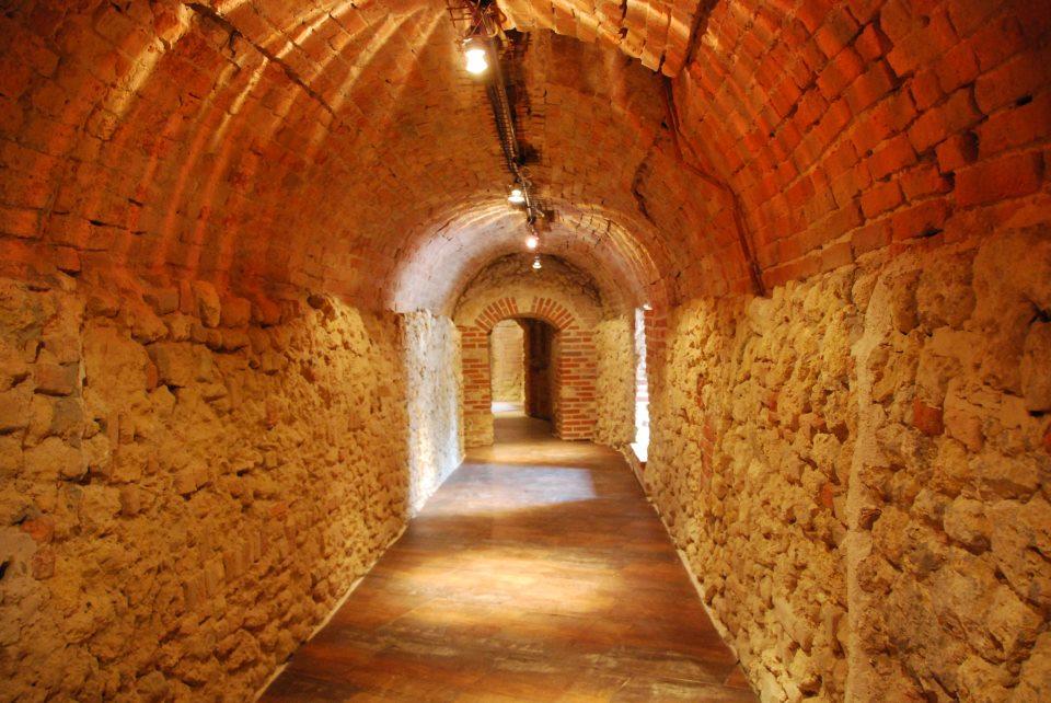 Camminamenti del Castello di Moncalvo