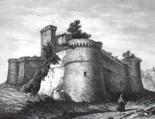 Castello di Moncalvo, Enrico Gonin, 1856