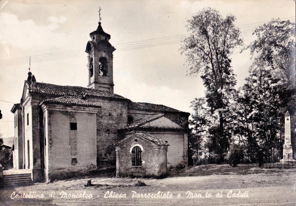 Chiesa Santa Caterina d'Alessandria a Moncalvo, fraz. Castellino
