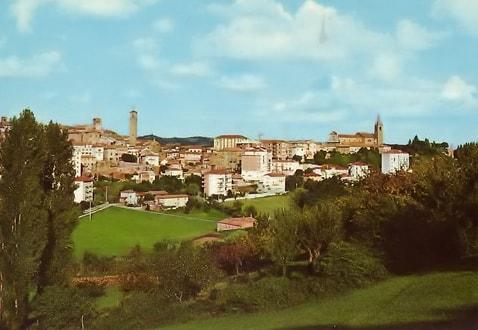 Panorama di Moncalvo