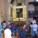 Gruppo in visita alla Chiesa di San Francesco a Moncalvo