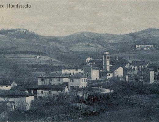 Veduta del cantone di Patro agli inizi del Novecento